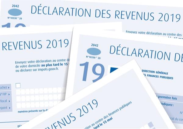 Déclaration d'impôts véranda